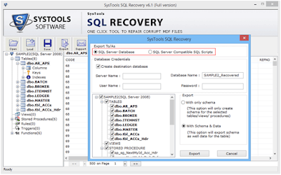 4 SQL Recovery Software: An Ultimate Tool For SQL Database Recovery SQL Recovery