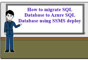 hi Copy How to migrate SQL Database to Azure SQL Database using SSMS deploy Azure