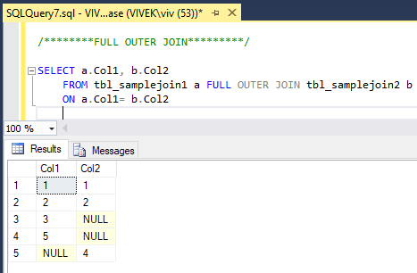 FullOuterJoin 0 SQL Joins Tricky Interview Questions