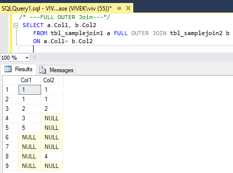 FullOuterJoin 4 SQL Joins Tricky Interview Questions