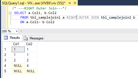 RightOuterJoin 3 SQL Joins Tricky Interview Questions