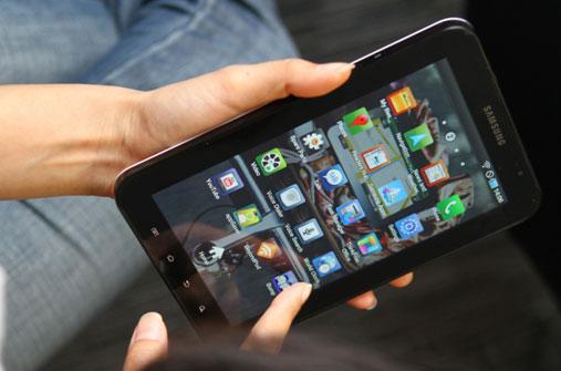 Samsung Galaxy Tab แอนดรอยด์ แท็บเล็ตสุดล้ำ