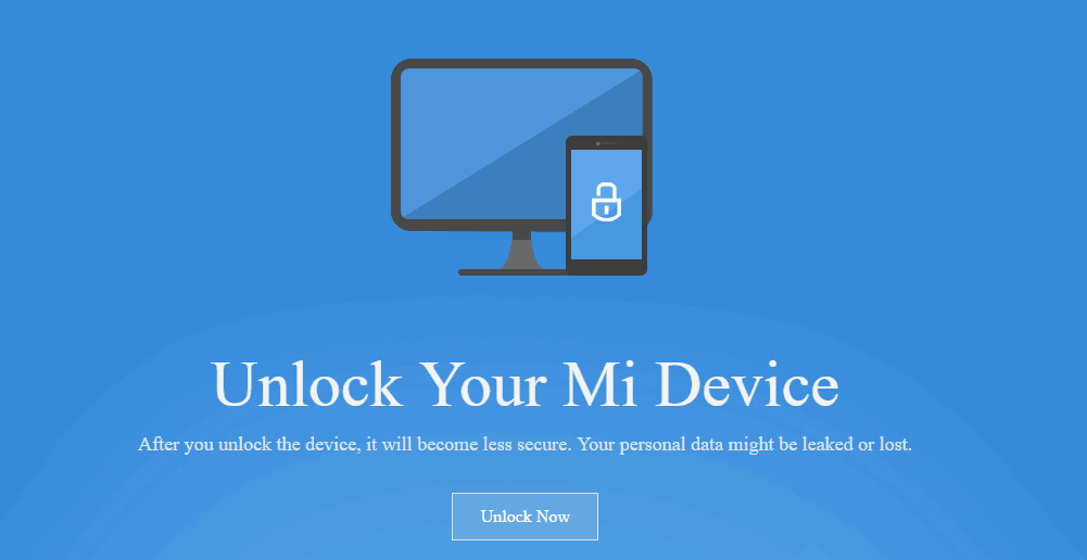 mi flash unlock tool 3