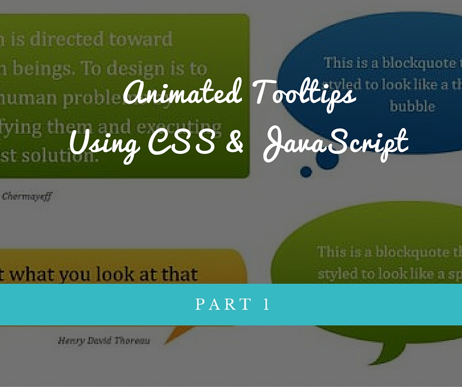animated tooltips with css and javascript