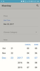 ion-datetime ionic date picker