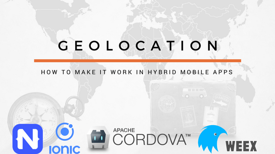 resolve geo location ionic cordova
