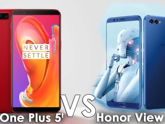 honor view 10 vs one plus 5t