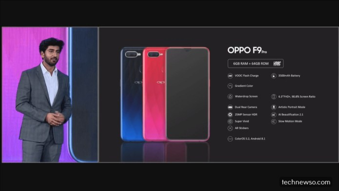 oppo f9 pro specifications