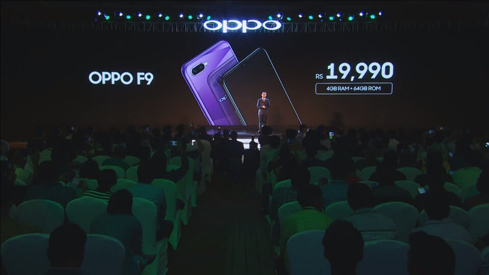 oppo f9 pro price in india