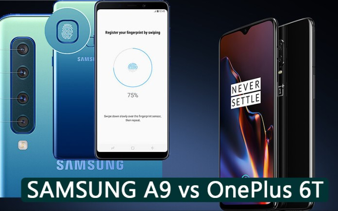 oneplus 6t vs samsung a9