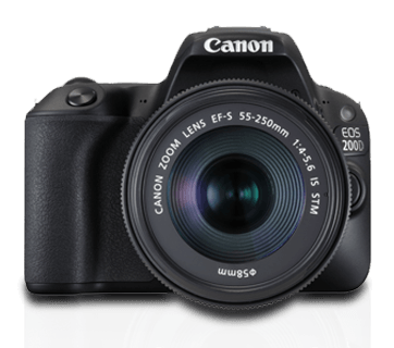 canon 200D Specifications