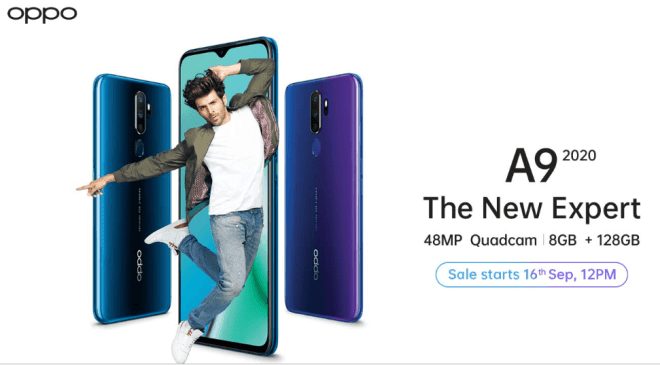 oppo a9 2020 sale price specifications