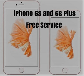 iPhone 6s and 6s Plus free service