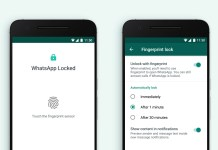 how to setup whatsapp fingerprint lock android