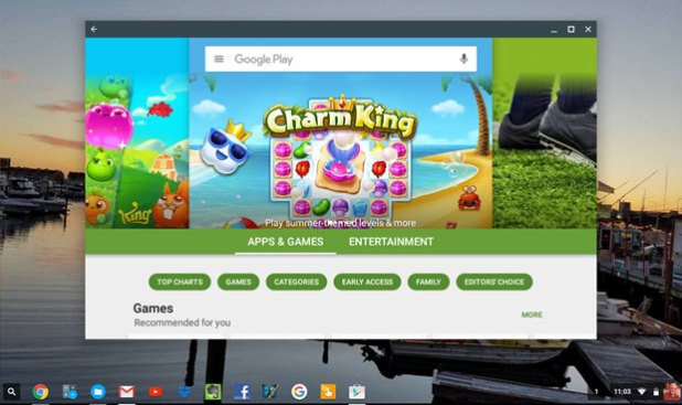 Chromebook Google Play Store