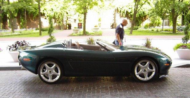 Jaguar XK180 by JePe