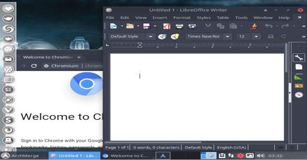 ArchMerge LibreOffice Writer