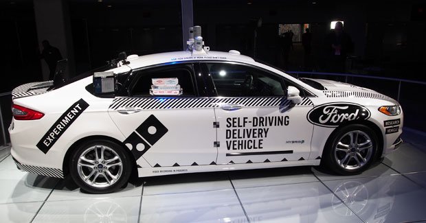 Ford's Self Driving Delivery Vehicle