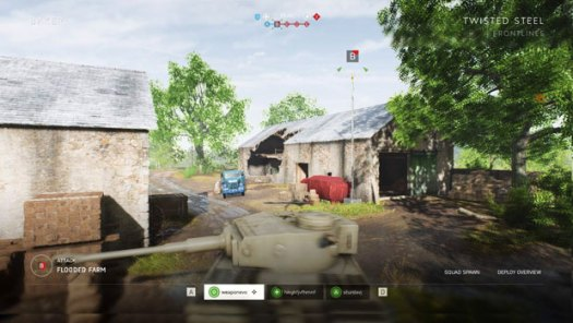 Battlefield V: Twisted Steel Frontlines