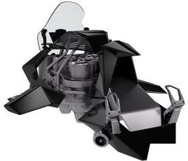 Jetpack Aviation's Speeder flying motorcycle