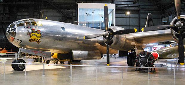 B-29 bombardier Bockscar