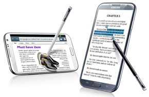 Samsung's Galaxy Note II Is a Suparb Phablet aka Tablet + Phone! (3/3)