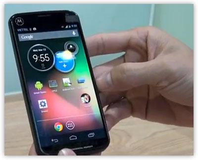 A Possible Motorola-Google Smartphone?