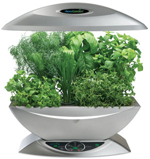 An Indoor AeroGarden From AeroGrow