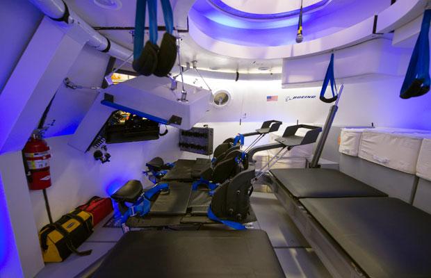 Boeing CST-100 interior