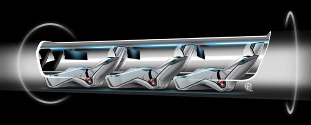 Hyperloop Passenger Capsule