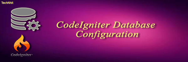 CodeIgniter Database Configuration