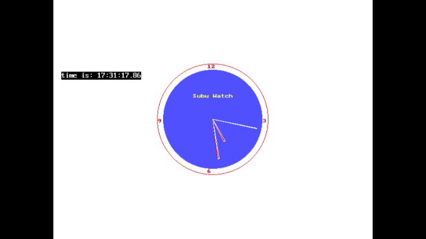 Making Analogue Clock with C-Language using Graphics
