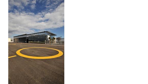 BASE HELICOPTERES AERODROME CANNES MANDELIEU Techni