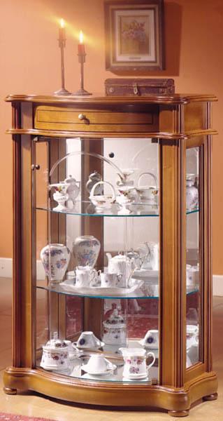 vitrine d exposition armoire en bois