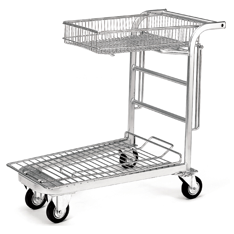 chariot libre service jardinerie