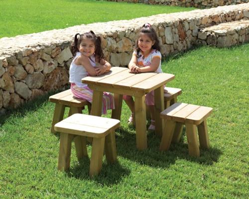 table de jardin pour enfants