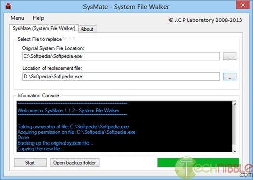 SysMate - System File Walker 1