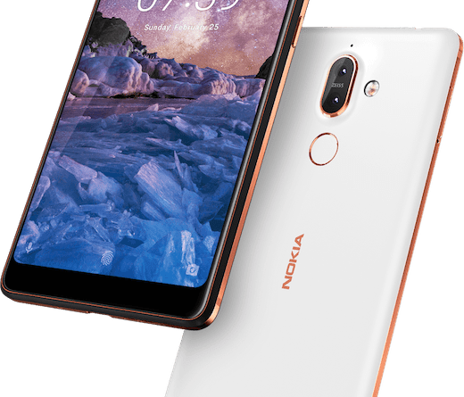 Nokia7plus white color