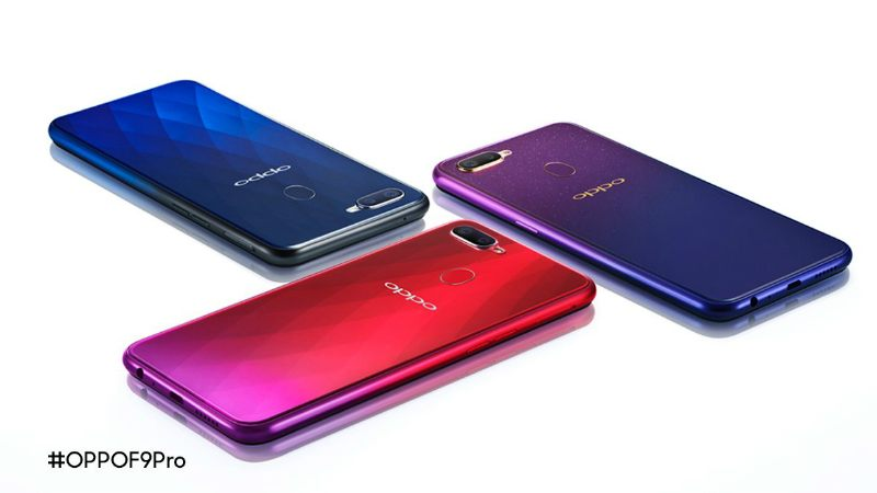 Oppo F9 Pro with Water drop Notch and VOOC fast charging technology launched.