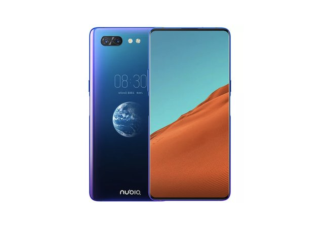 Nubia X with dual display