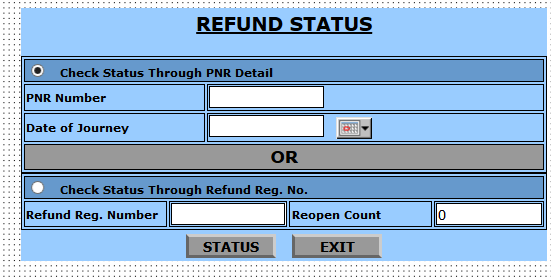 Cancelled train ticket Ka check Karein refund status Online