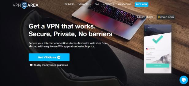 vpn area for anonymity