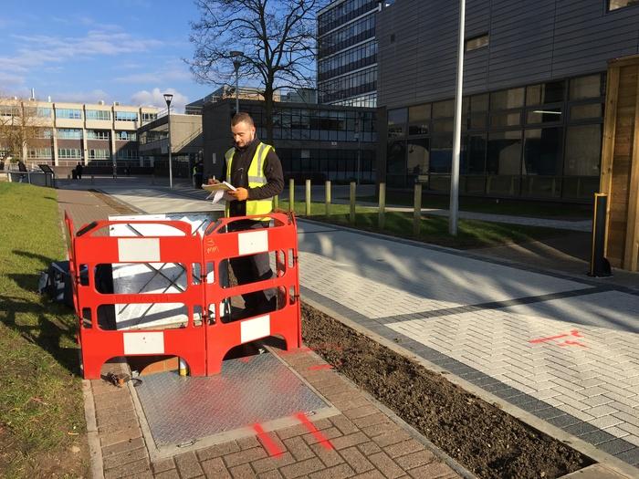 Technics carries out utility survey at Brunel University London
