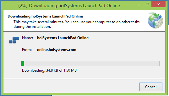 Download holSystems LaunchPad Online