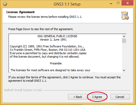 GNS3 License Agreement