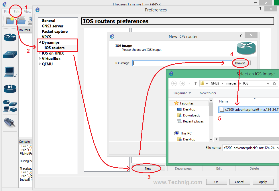 Select Router Image
