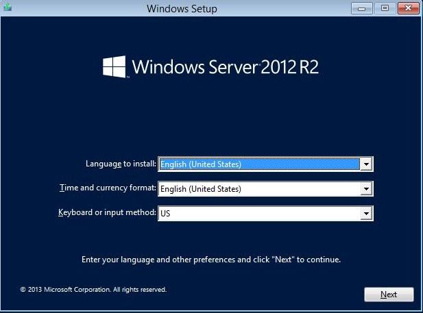 Select Windows Language