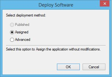 Deploy Software using GPO