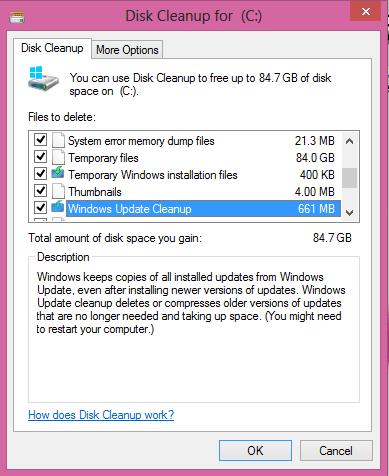 Delete System Error Memory Dump Files in Windows 10