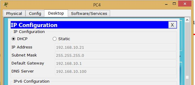 Get IP From DHCP Server